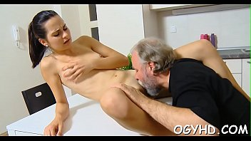 elderly chap porks youthful humid vag