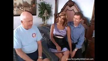 Latina Swinger Anal Threesome