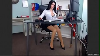 stellar dame in her office