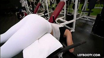 Wonderful big ass of busty Keisha Grey gets slammed pussy