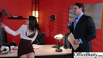 (Anna De Ville) Office Girl With Round Big Boobs Enjoy Hard Sex movie-03