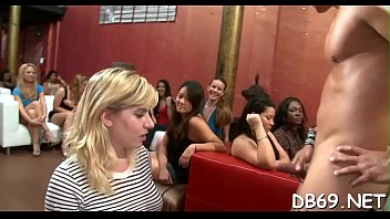 Pretty sweetheart gets screwed in front of her friends.