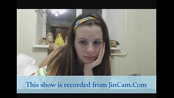 Hairy girl masturbates with toys on webcam