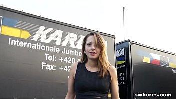 Really cute prostitute sucks like a maniac