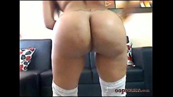amazing latina anal fuck masturbating     www.oopscams.com