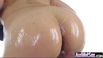 (sarah vandella) Curvy Big Butt Girl Take It Deep In Her Asshole movie-27