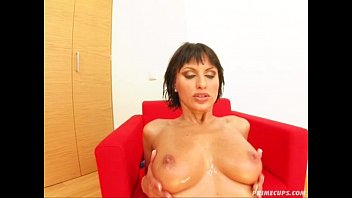 Prime Cups Smothering in cum, her tits are fucking radiant