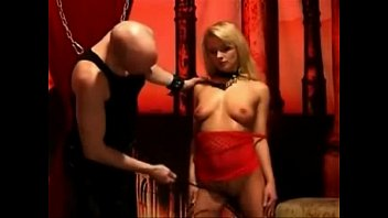 Gorgeous Blonde Submissive Hottie Whipped By Her Master F51