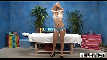 wondrous stunner plays with guy039_s sausage by mitts.