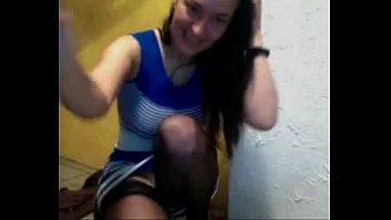Sizzling webcam brunette entertains herself fingering her pussy HOT-CAM.NET
