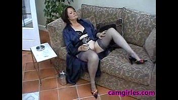Suzie Mature Solo Stockings Free Masturbation Porn Video