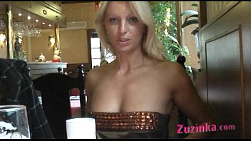 all-natural exhibitionist in asian restaurant -.