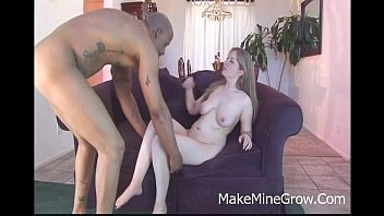 Haley Scott - Big Tits Blonde Take Black Cock On Her Pink Pussy