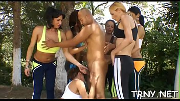 stud meat-longing transsexual wench revels each spurt of.