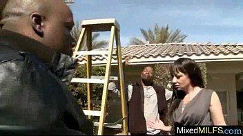 (coco velvet) Interracial Sex With Milf On Black Huge Dick video-11