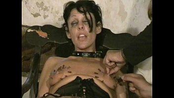 horny needle torment of sobbing blondie slaveslut crystel.