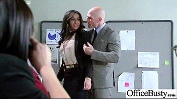 stephani moretti wonderful large-titted office damsel screw gonzo.