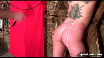 stunning inked biotch gets bound and.
