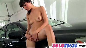 Solo Freak Girl (lily) Masturbates In Front Of Camera mov-11
