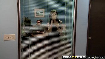 brazzers - thick baps at work -.