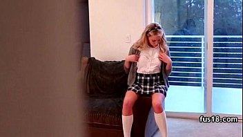 teenager gf stunner bangs her beau