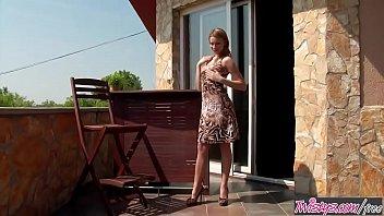 twistys - bernice starring at badness on the balcony