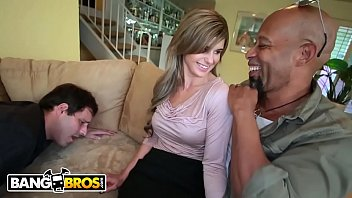 BANGBROS - MILF Chloe Chaos Uses Shane Diesel'_s Big Black Cock To Turn Her Husband Into A Cuckold