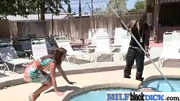 Interracial Sex On Cam With Big Black Cock In Hot Milf (raquel devine) video-23