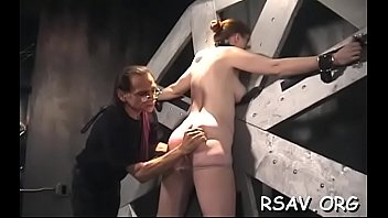 strapped jism-slot gets clamped