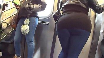Touch bbw ass at metro