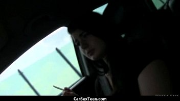 Car sex teen hitchhiker hardcore pounded 29