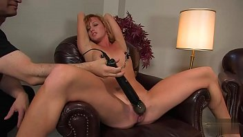 spectacular damsel strapped to the armchair and obliged.