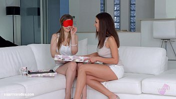 Henessy and Stella Cox in Christmas came late lesbian scene by Sapphic Erotica