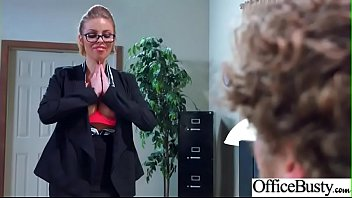 ginormous-chested office woman britney amber get gonzo activity.