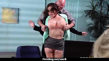 steaming kinky executive sweetheart caressed and pounded stiff.