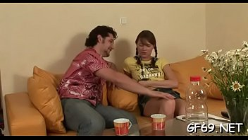 sumptuous three-way pulverizing with youthful honey and 2 hunks