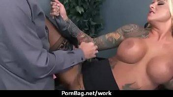 Big Tit Caucasian Slut Banged At The Office 21