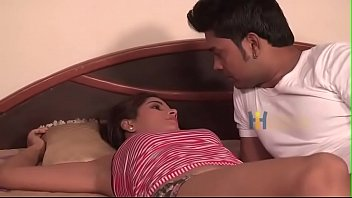 Hot Indian Girl Attracted and Romance With His Young Roommate Hot Must Watch Only 4 Adults