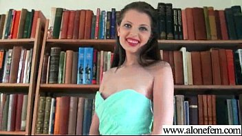 liona solo doll have fun on web cam.
