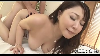 Oriental schoolgirl enjoys coarse anal toying and jamming