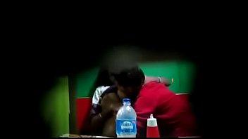 Hidden camera boyfriend sucking and pressing boobs of Gossaigaon hot girl