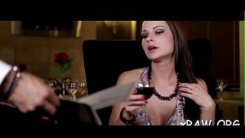 Breasty pornstar intensive porn